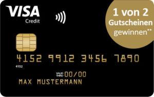 Deutschland Kreditkarte Gold