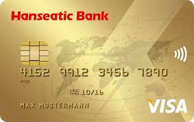 Hanseatic Bank GoldCard Kreditkarte