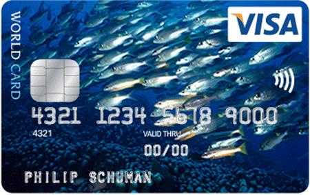 Visa Foto Card Kreditkarte