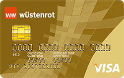 Wüstenrot Visa Gold Kreditkarte