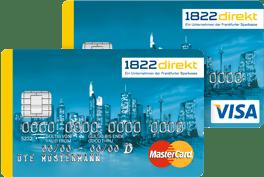 1822direkt Visa & Mastercard Classic Kreditkarte