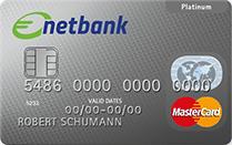 netbank MasterCard Platinum Kreditkarte