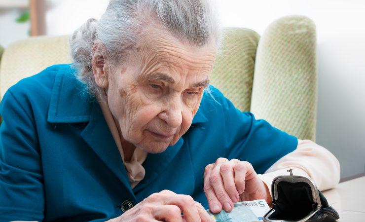 Deutsche sind um Altersarmut besorgt