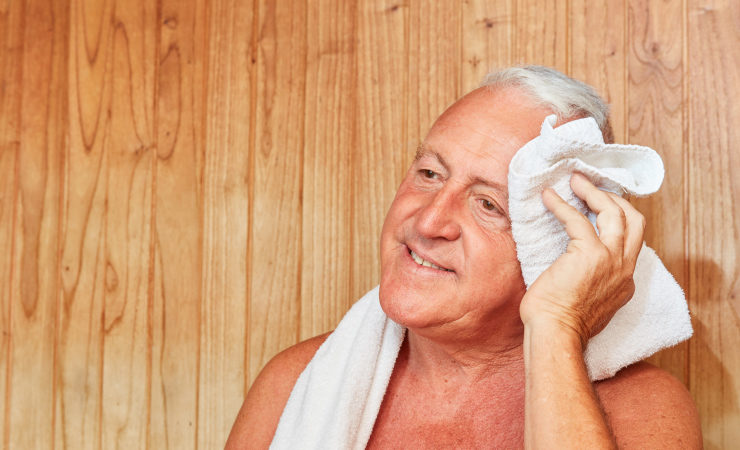 Saunagang belastet Körper ähnlich stark wie Sport