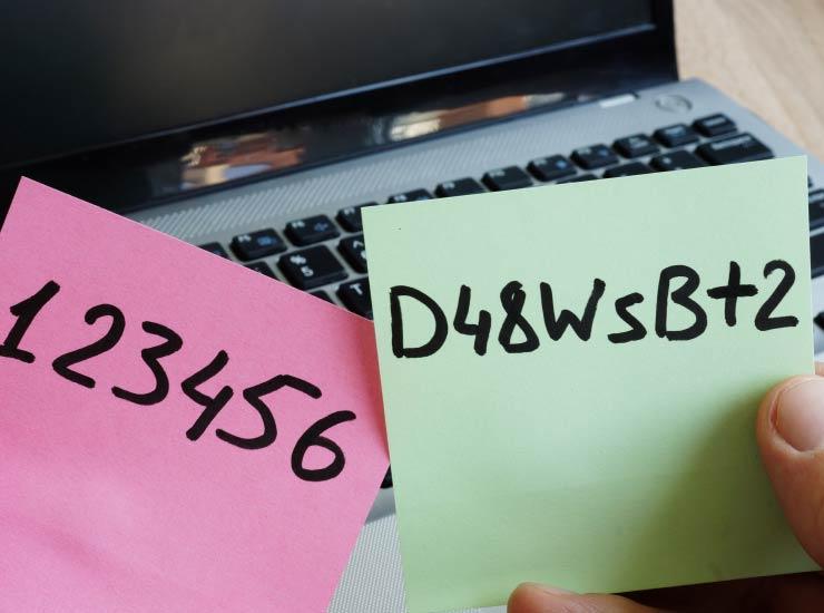 Passwort Wahl - Sicherheit beim Webhosting