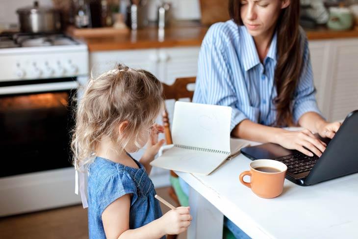 Höhere Belastbarkeit - Kind und Karriere