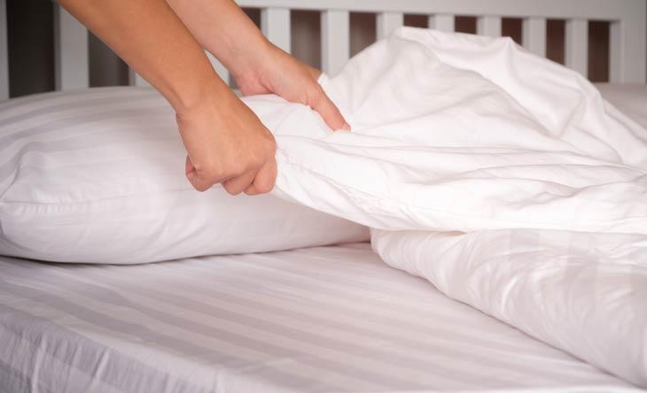 Bettwäsche wechseln
