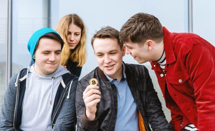 Bitcoin ist bei Millennials beliebter als jemals zuvor