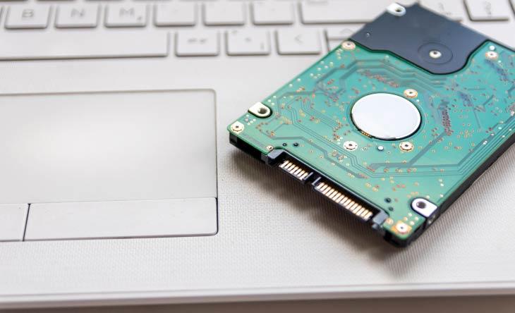 Festplatte im Laptop ersetzen