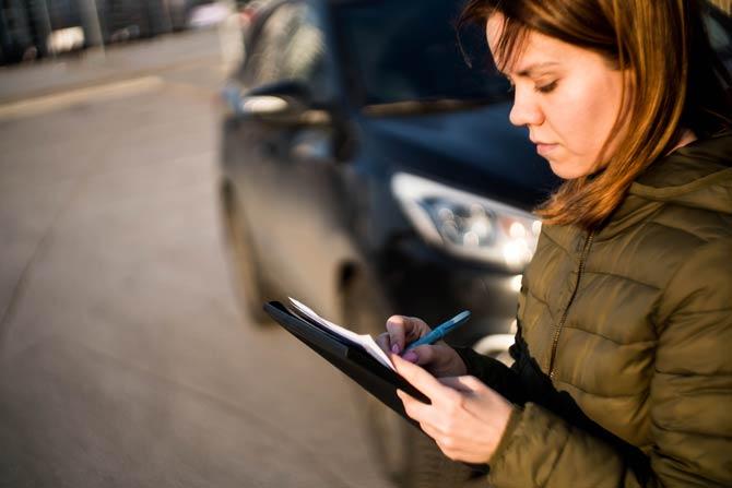 Autovermietung und Mietwagen Protokoll