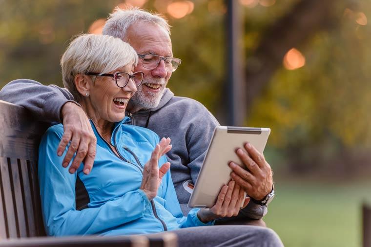 Alter ist keine automatische Hürde im Umgang mit Technik