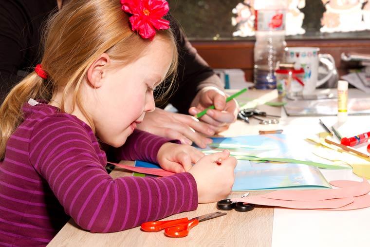Basteln mit Kindern - neue und andere Ideen