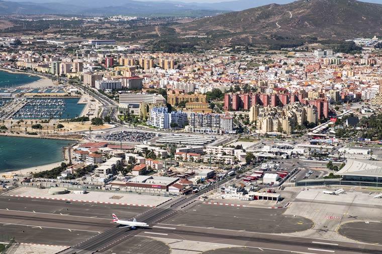 Landebahn von Gibraltar