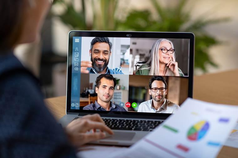 Meetings werden auch zukünftig durch Videokonferenzen ersetzt