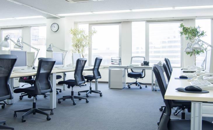 Mieten für Büros sinken