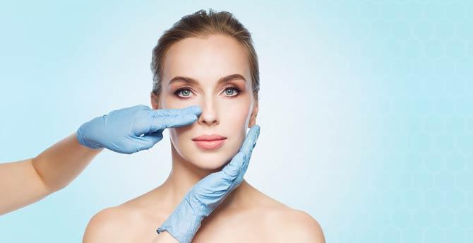 Nasen OP - plastisch-ästhetischen Eingriff