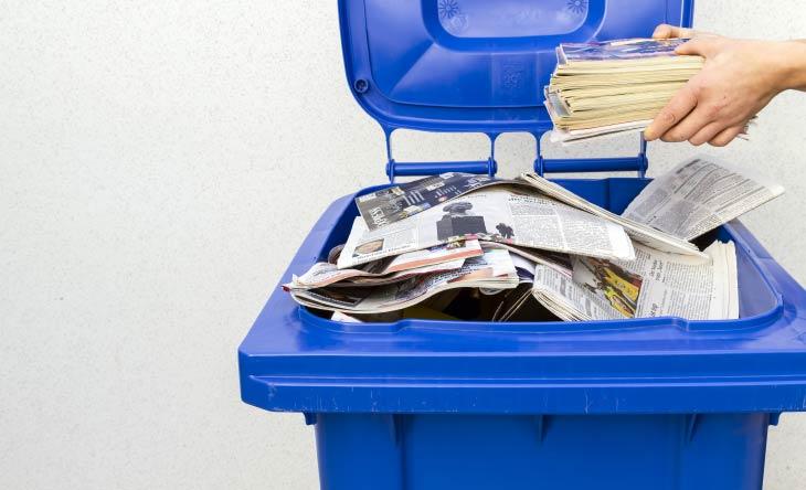 Was gehört wirklich in den Papiermüll?