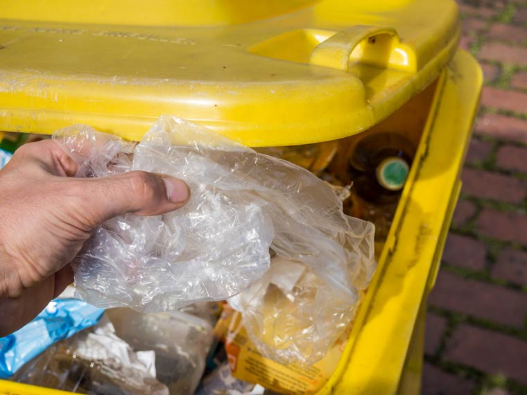 Plastiktüten - Gelbe Tonne