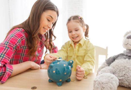 Sparen für den Nachwuchs