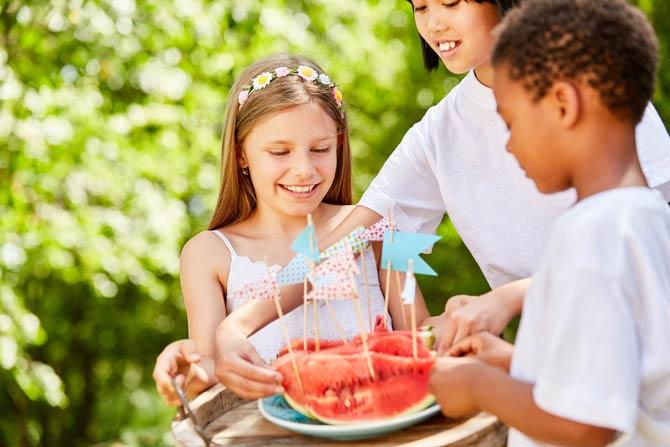 Speisen - Kindergeburtstag