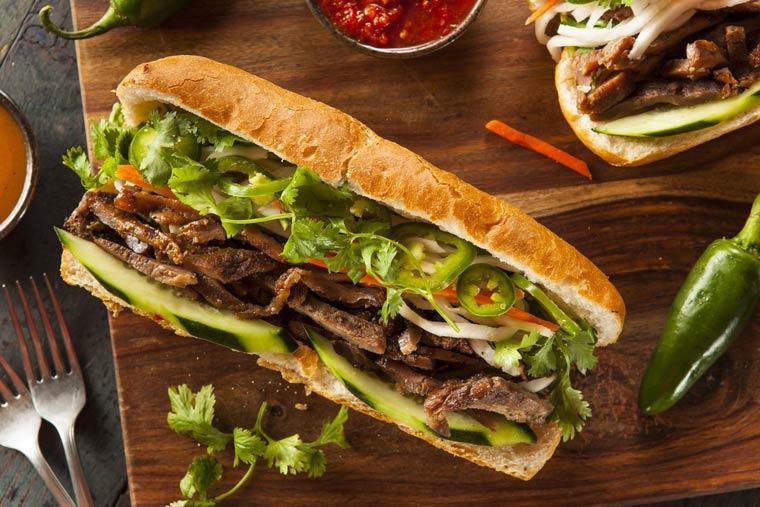 Banh Mi - französisch vietnamesisches Sandwich