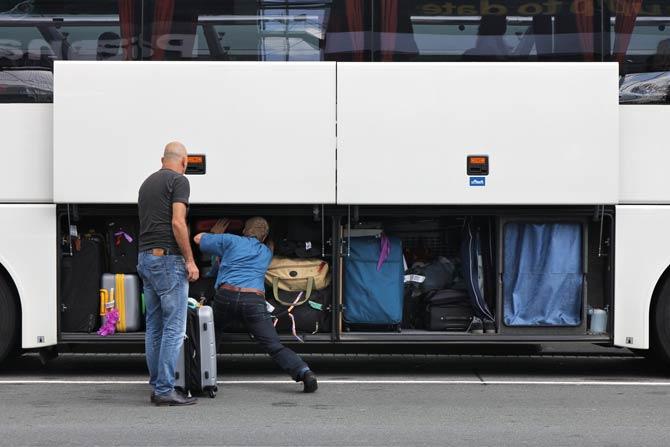 Gepäckmitnahme im Fernbus
