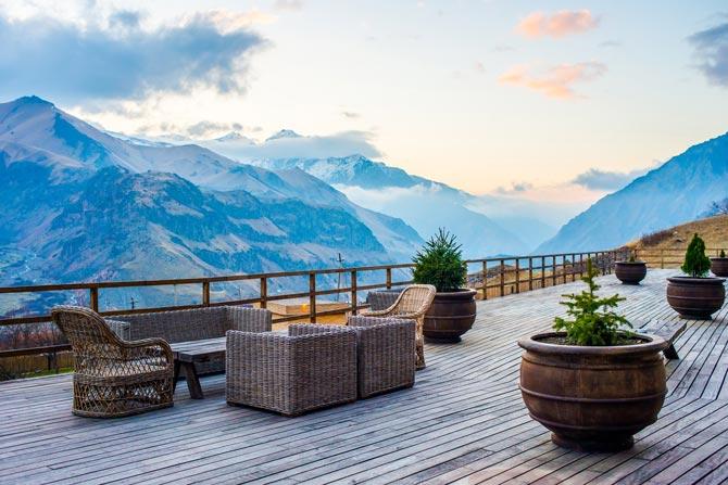 Hotels in den Bergregionen Deutschlands, Österreichs, der Schweiz und Südtirol gut besucht