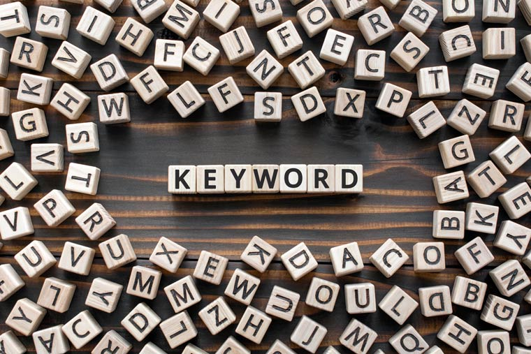 Keywords - SEO für Blogs