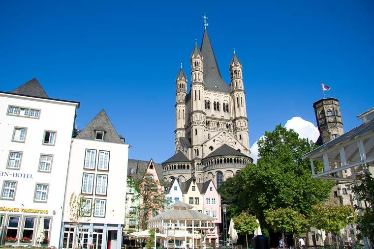 Kath. Kirche Groß St. Martin in Köln