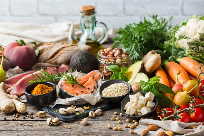 Nahrungsmittelzusammenstellung - Vegetarier