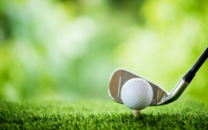 Spieleigenschaften Golfball