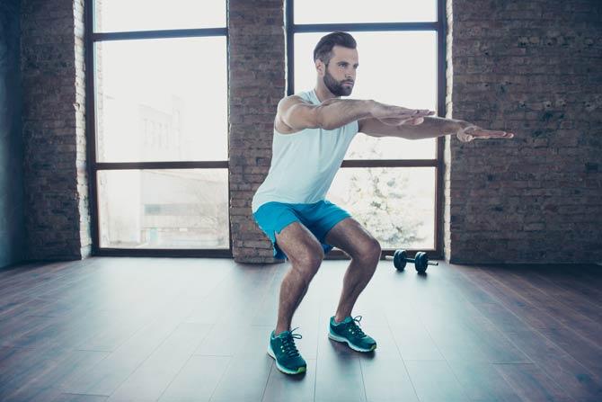 Squats - Oberschenkel Training