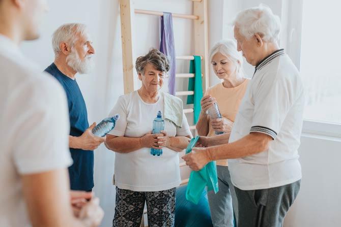 Ausreichende Bewegung um Alzheimer vorzubeugen
