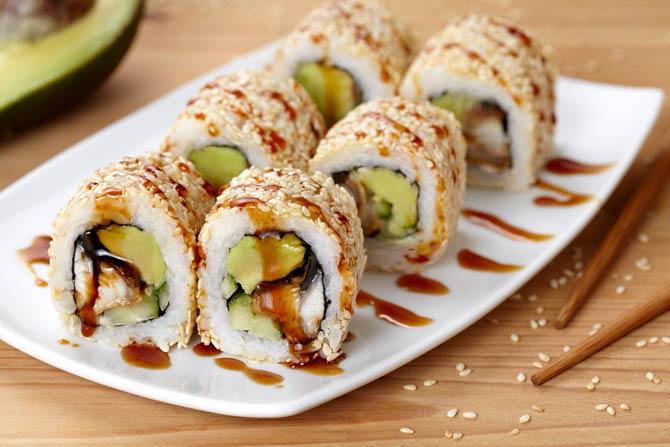 California Rolls - Sushi