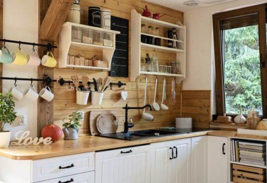 Küche im Bauernstil