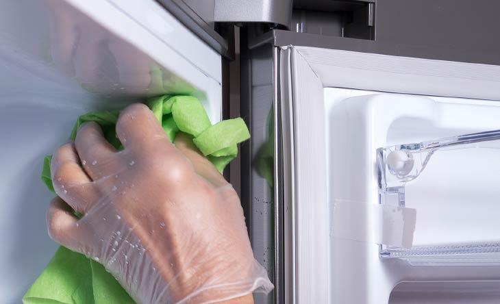 Kühlschrankgummis richtig pflegen
