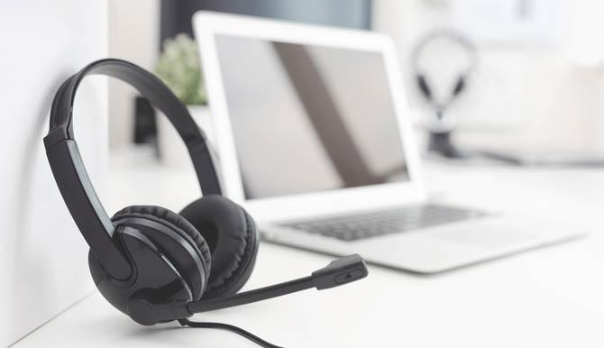 Mikrofon - Computer-Headset