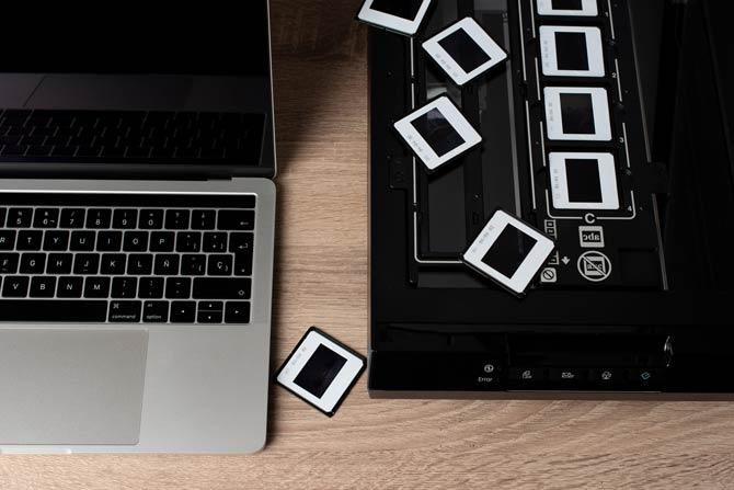 Negative digitalisieren mit Flachbettscanner