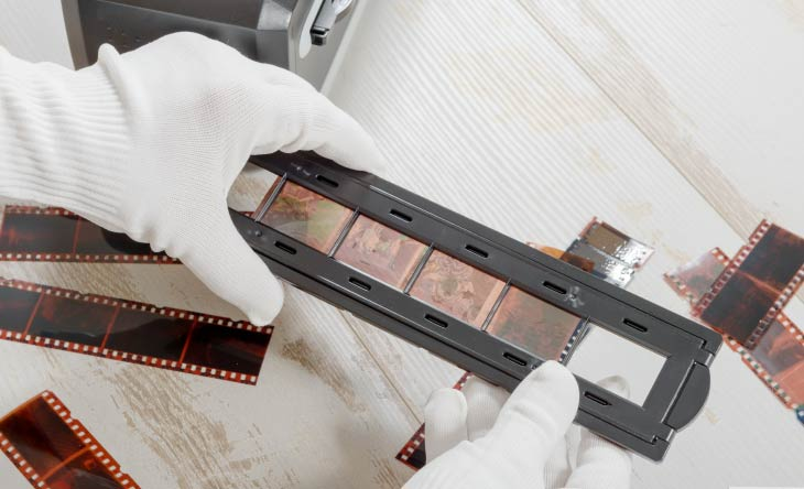 Negative digitalisieren