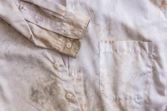 Rostflecken auf Kleidung und Textilien entfernen
