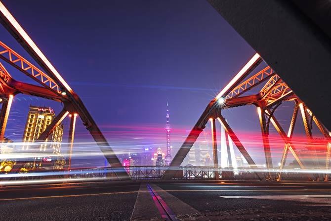 Waibaidu Brücke - Shanghai