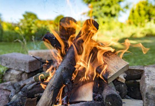 Feuerstellen im Garten