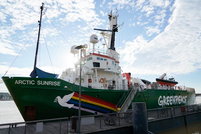 Greenpeace - Arctic Sunrise