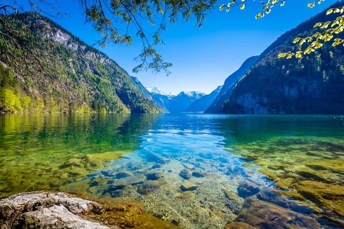 Königssee im Nationalpark Berchtesgaden
