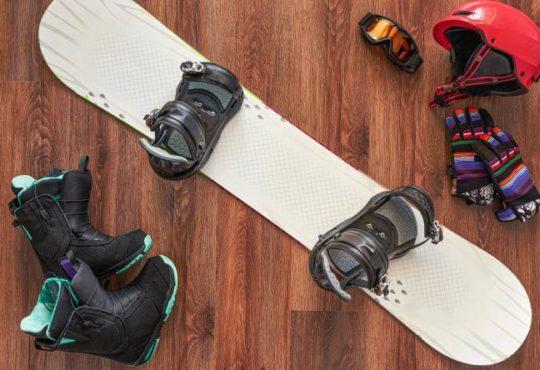 Snowboard Ausrüstung