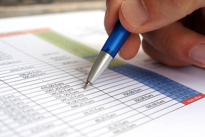 Übersicht über die Finanzen erstellen