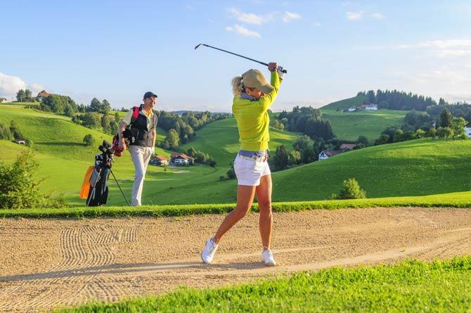 Golfen - wenige physische Anforderungen