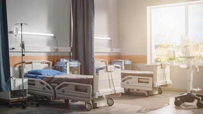 Krankenhaus im Ausland