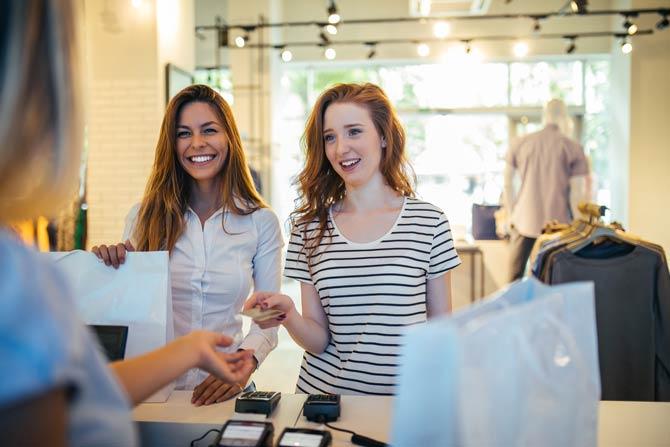 Kundenkarte oder Bonusaktion kann von Vorteil sein