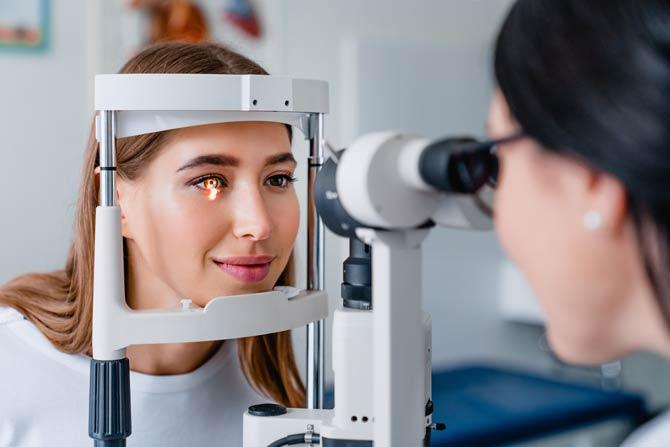Nachuntersuchung - Augenlaser-OP